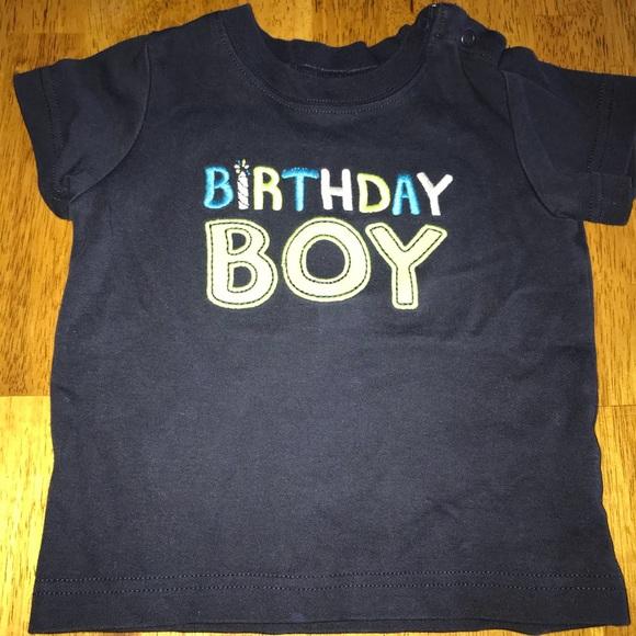 Birthday Boy Shirt Size 12 Months